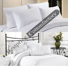 Sale 600 to1000 Thread Count Brand New Hotel White Bedding Collection 100%Cotton