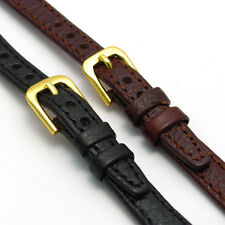 Ladies Open Ended Leather Watch Strap/Band for Vintage Watch Choice of Colours