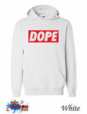 Dope Mens Micky Mouse Hands Mac Obey Hoodie S-XXL - White III