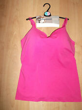 BNWT, stunning rose pink secret support bra vest, MARKS & SPENCER