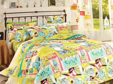 2013 New Monsters University Bedding Set for Twins/Single Queen King Bed RARE