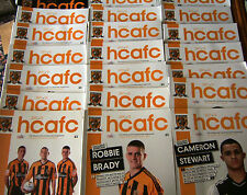 11/12  Hull City Home Programmes (Mint condition) v Your Choice