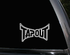 Tapout UFC Ultimate Fighting Tap Out MMA Car Truck Window Vinyl Decal Sticker