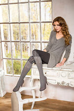 "Women Patterned Tights 80 Denier "" Marit 01 ""  Warm & Sexy Microfiber by Mona"