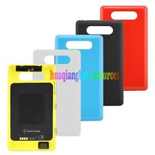 Housing Battery Back Cover Door with Wireless Charging Shell For Nokia Lumia 820