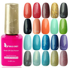 120 Colors Nail Art Soak Off Polish UV Glitter For LED Lamp Decoration Tips 01