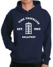 Doctor 50th Anniversary Hoodie Who Call the Dr PHONE BOOTH GEEK Time Space 1962