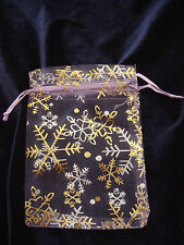 Luxury Organza Jewelry,gift, Wedding Favor Pouch Bags(unit price is for 10 bags)