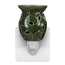 Scrolled Ivy Plug-In Tart/Oil Warmers Plug Directly Into Your Wall Outlet-4 Colo