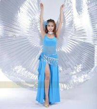Egyptian Egypt Belly Dance Dancing Costume Isis Wings Dance Wear Wing (no stick)