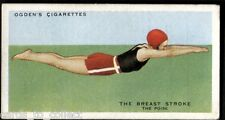 Ogdens, How to Swim, Swimming, 1935, #1 to #50