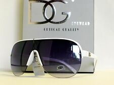 DG Womens Oversized Aviator Shield Sunglasses Free Microfiber Bag DG 27014
