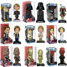 Star Wars Collectable Bobble Head Figures Sci Fi Gift For Him Cool Disney film