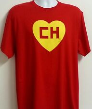 CH EL Chapulin NEW T-shirt Yellow Heart Funny Spanish Latino Colorado EL Chavo