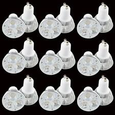 10X GU10 dimmable CREE LED Light  Home Bulb Ceiling Lamp 9W 3x3W Warm Cool White