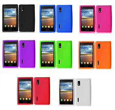 Rubber Silicone Case phone Cover for LG Optimus L5 Extreme L40G