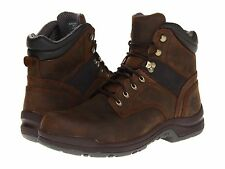 Men's Justin WK974 Leather Brown Lace Up Aluminium Safety Toe Work Boots