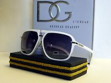 DG Mens Womens Aviator Designer Sunglasses +Free Microfiber Bag DG931