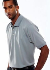 UltraClub Men's Snag Resistant Polyester Relaxed Fit Knit Polo Shirt. 8315