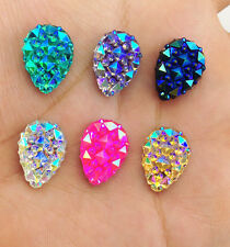 DIY 20pcs AB Drop Resin flatback Scrapbooking for phone/wedding/craft Pick Color