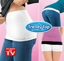Trendy Top Tees As Seen on TV The Layering Cover Assets 2 Pack B/W S-L Camisole
