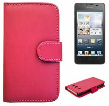 Book Wallet Flip Leather Case Card Holder Cover For Huawei Ascend G510 +SP