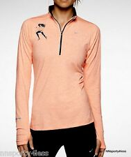 Nike 645371 Element Half-Zip Long Sleeve Tank Top SF Marathon Running 606