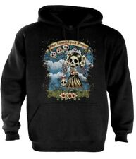 Day of the Dead Hoodie Sugar Skull gift Tattoo Mexican Dia De Muertos Zombies