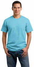 Port & Company Men's Short Sleeve Coverseamed Neck Cotton Basic Tee. PC54