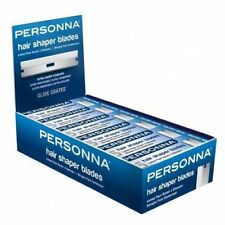 Personna Hair Shaper Blades 15 30 or 60 SUPER Stainless Steel Barber Razor blade