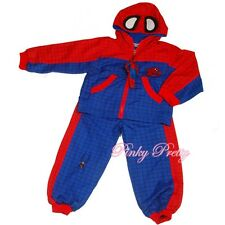 Hero Spiderman Boy Jacket & Trouser Party Costume 2y-7y