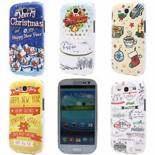 Christmas Gloves Garland House Hard Back Case Cover for Samsung Galaxy S3 i9300