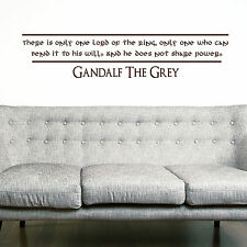 GANDALF, LARGE WALL STICKER, Lord, Power, Decal, WallArt, SS1425