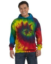 Tie-Dye Hoody Sweatshirt 8.5 oz 100% Cotton Unisex Tie-Dyed Pullover CD877 NEW