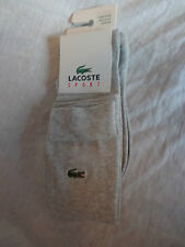 LACOSTE SPORT WOMENS LONG GREY SOCKS 3.5 6.5 EUR 36 - 40 BRAND NEW