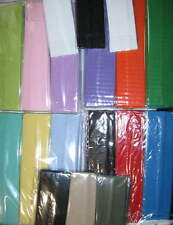 5-6 SOLID COLOR Headbands Continuous stretch Pastel Bold You Pick LOT Nylon