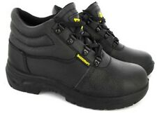 MENS STEEL TOE CAP WORK SAFETY LIGHTWEIGHT CHUKKA TRAINERS SHOES BOOTS SZ 3-12