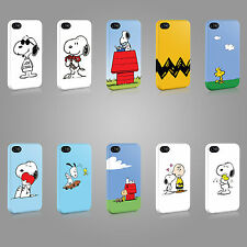 SNOOPY CHARLIE BROWN CUTE CASE HARD COVER FOR iPHONE OR SAMSUNG TV CARTOON