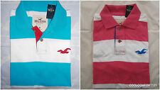NWT Hollister La Jolla Cove Polo Shirt Mens Rugby Muscle Fit By Abercrombie