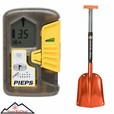 Pieps DSP Pro Avalanche Beacon Transceiver with Free Avy Search Rescue Shovel