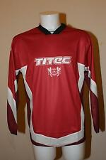 Titec DH / FREERIDE MTB TEAM JERSEY-Maniche Lunghe, Rosso,