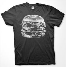 DOUBLE BACON CHEESEBURGER - High Quality T Shirt HAMBURGER Funny Bob's Burgers
