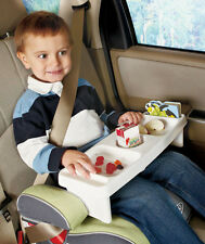 Kids Lap Lunch Super Lap Tray Car or Home Several Food Snack + Drink Slots