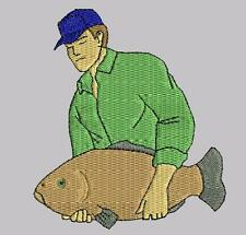 Fishing Embroidered & Personalised Clothing