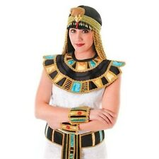 Egyptian Cleopatra Fancy Dress Costume Accessories Collar Belt Bangles