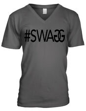#Swag Hastag Swag Designer Swagger - Funny Fashion Mens V-Neck T-Shirt