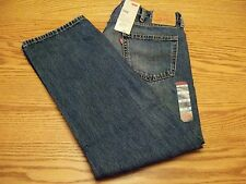NWT MEN'S LEVI JEANS 504 Multiple Sizes Regular Straight Fit