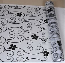 Static Cling Window Film covering stained glass paper decorative frosted privac
