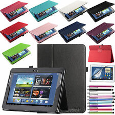 "Leather Case Stand Cover for Samsung Galaxy Note 10.1"" Tablet N8000 N8010 N8013"