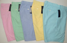 NWT $79 Polo Ralph Lauren Oxford Shorts Mens 30 32 33 34 35 36 38 40 42 FREE NEW
